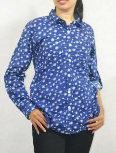 NAVY VELLEY SHIRT